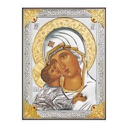 Ikona srebrna Matka Boska Włodzimierska 31178OROA