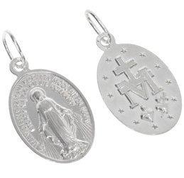 Medalik srebrny - Matka Boża Niepokalana Cudowny medalik ML002