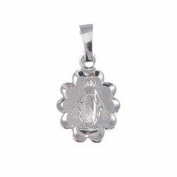 Medalik srebrny - Matki Bożej Niepokalanej Cudowny Medalik M004