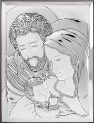 Obrazek Srebrny Święta Rodzina 31131