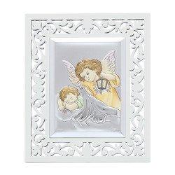Obrazek srebrny Aniołek z latarenką 31120FBCERA
