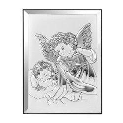 Obrazek srebrny Aniołek z latarenką 31122