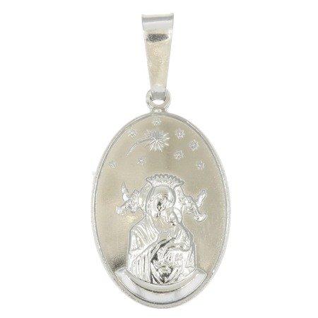 M95 Medalik srebrny - Matka Boska Nieustającej Pomocy