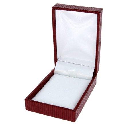 Pudełko skórzane czerwone PDH-3/A7